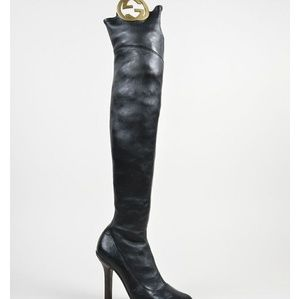 31ae74109c58 Gucci Shoes - Gucci high heel over knee boots